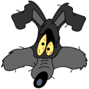 Wile E Coyote explosion icon