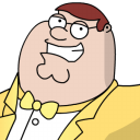 Peter Griffen Tux zoomed 2 icon