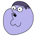 Peter Griffin Blueberry head icon