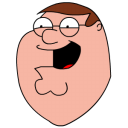 Peter Griffin Football head icon