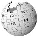 Wikipedia globe icon