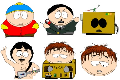 South Park Icons