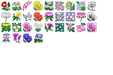 Flowers 2 Icons