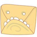 Monster mail icon