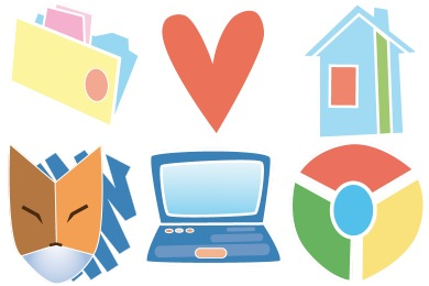 Simple Cute Icons