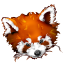 Firefox-panda-red icon