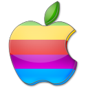 Apple multicolor icon