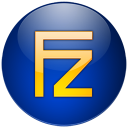 Filezilla-bleu icon