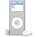iPod nano argente icon