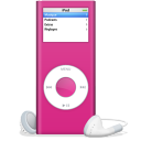 iPod nano rose icon
