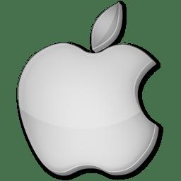 Apple grey icon