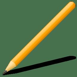 Crayon bois icon