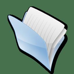Dossier cache icon