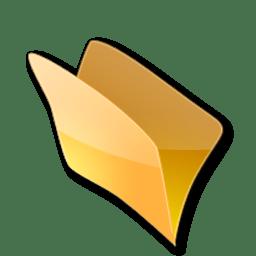 Dossier jaune icon