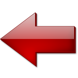 fleche gauche rouge icon cristal intense iconset tatice. Black Bedroom Furniture Sets. Home Design Ideas
