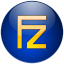 Filezilla bleu icon