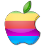 Apple-multicolor icon