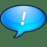 Chat-bleu icon
