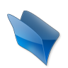 Dossier-bleu icon