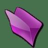 Dossier-violet icon