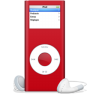 IPod-nano-rouge-SIDA icon