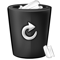 bin black iconRecycle Bin Icon Black