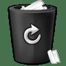 Bin-black icon