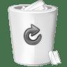 Bin-white icon