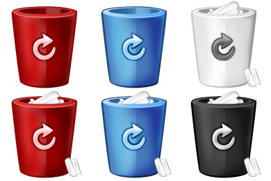 Just Bins Icons