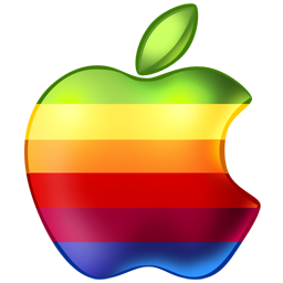 Apple Rainbow icon