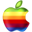 Apple-Rainbow icon