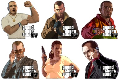 GTA IV Icons