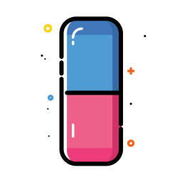 Rubber eraser icon