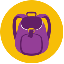 Hiking-Backpack icon