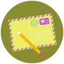 Write Pencil Mail icon