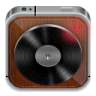 Music-player-wood icon