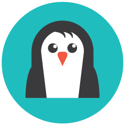 Seo penguin icon