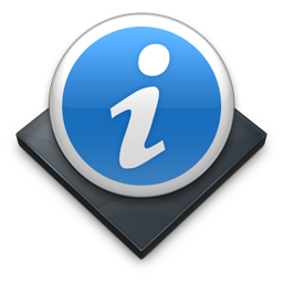 Settings Info icon