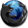Black-Firefox icon