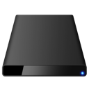 Black External icon