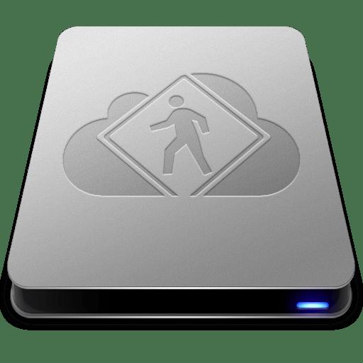 iDisk User Drive icon
