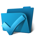 folder ok icon