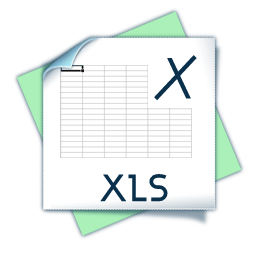 filetype xls icon