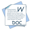 Filetype doc icon