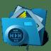Folder-multimedia icon