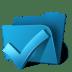 Folder-ok icon