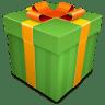 Christmas-Gift-green icon