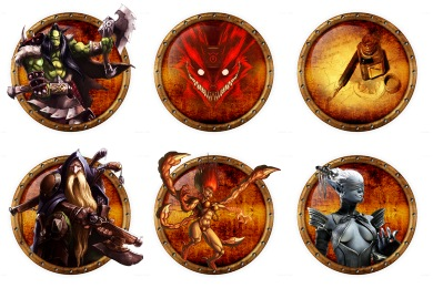 Medievalish Gaming Icons