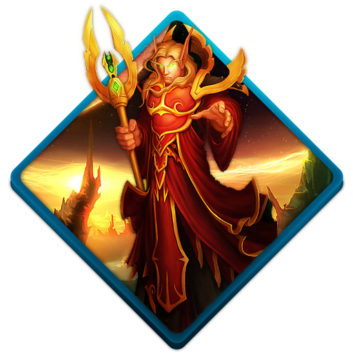 Wow-blood-elf icon