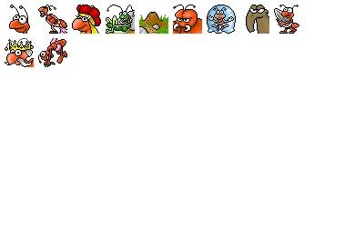 Ants Icons